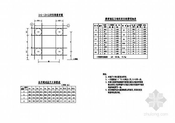 杭新景高速公路拱肋式大桥横梁钢束定位钢筋布置节点详图设计
