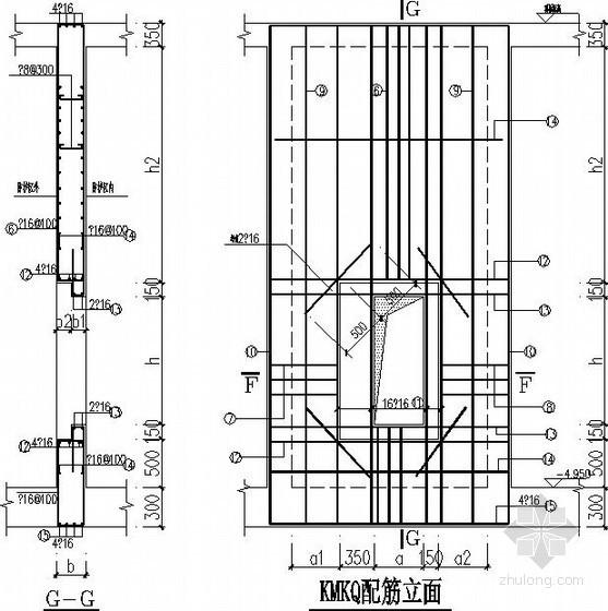 地下室人防构件节点详图