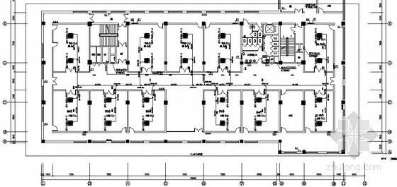 VRV系统办公平面图资料下载-多层办公楼VRV系统施工图