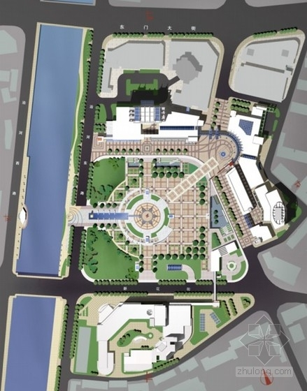 [金坛]旧城改造暨市民广场规划设计方案