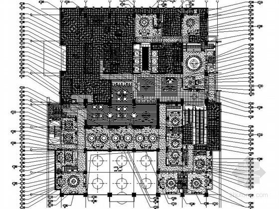 [无锡]某洲际酒店餐饮区室内施工图