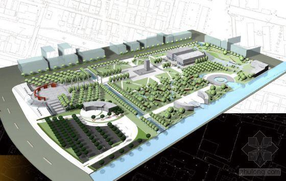 纪念馆主题广场概念设计
