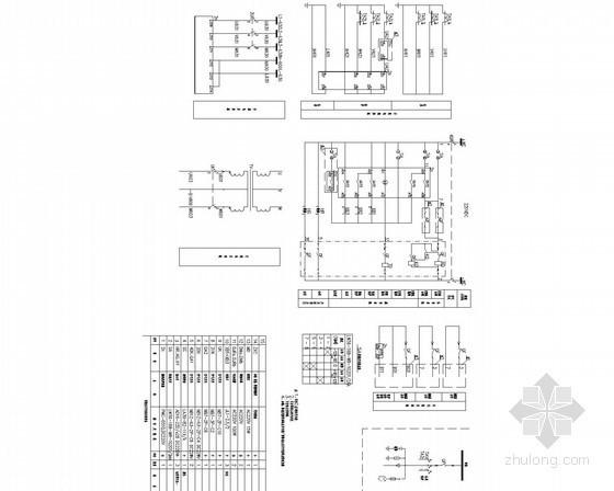 [内蒙古]三级图书馆电力监控系统初步设计图