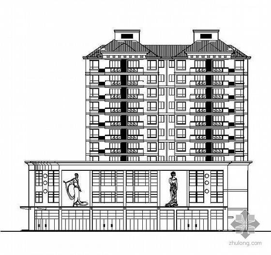 某花园小区住宅建筑施工图(含人防工程)