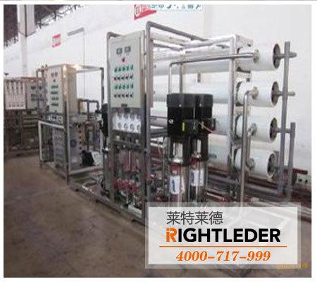 反渗透纯净水设备对生产纯水的工艺概述