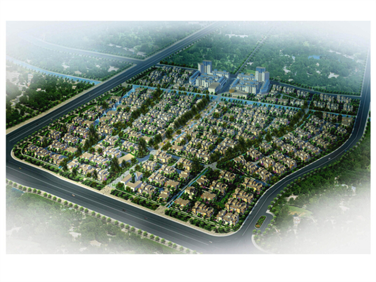 [上海]知名地产现代别墅区详细设计方案文本(建筑、施工、景观)
