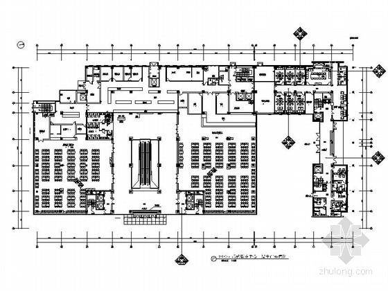 [宁波]公共资源项目交易中心现代后勤部装修施工图