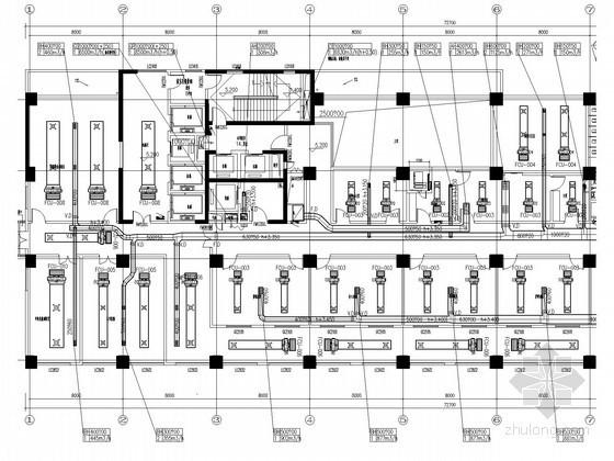 医院空调设计大院资料下载-[安徽]高层医院工程病房楼空调通风防排烟系统设计施工图(大院作品 最新设计)
