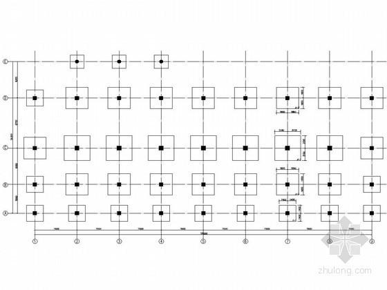 [学士]六层框架办公楼毕业设计(含建筑、结构、计算书)