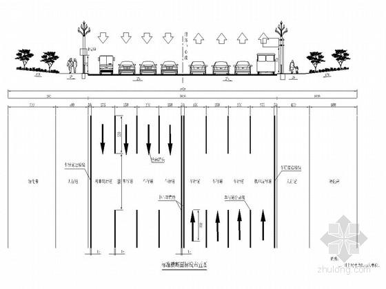 [四川]景观大道道路工程交通安全设施施工图设计41张