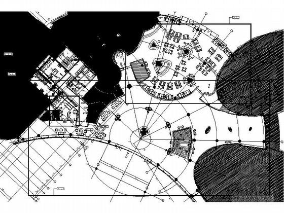[福建]高端时尚国际酒店公共区室内装修施工图