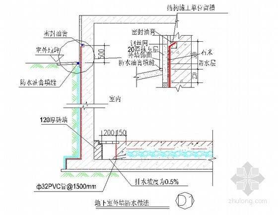 建筑工程防水防渗漏做法及质量控制措施