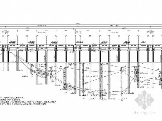 [福建]2万吨级通用泊位施工图(全套128张)