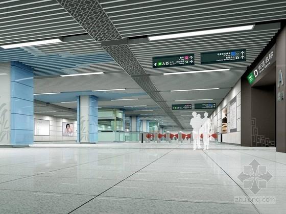 [成都]城市轨道交通地铁现代公共区设计方案
