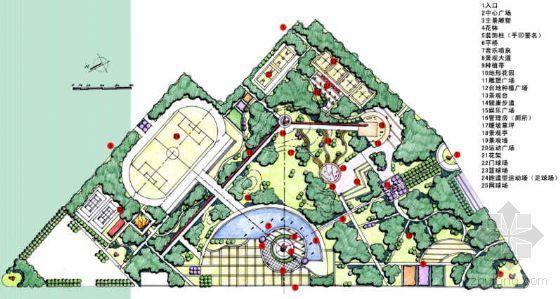 河北奥运主体公园景观设计方案