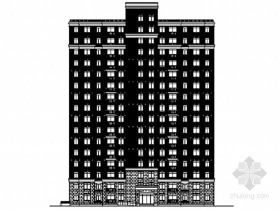 某小区十六层住宅建筑施工图