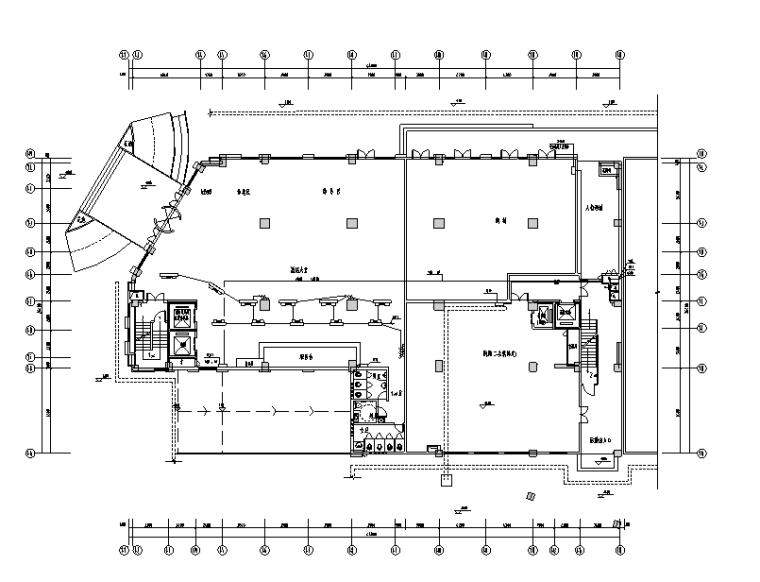12层酒店式公寓电气施工图