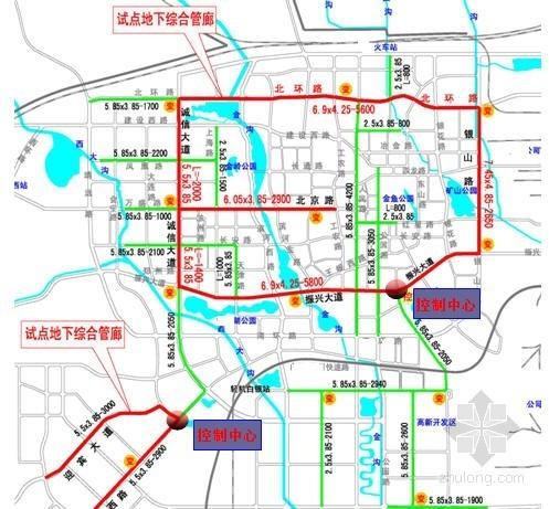 [甘肃]PPP融资模式8类管线入廊城市地下综合管廊试点城市实施方案266页
