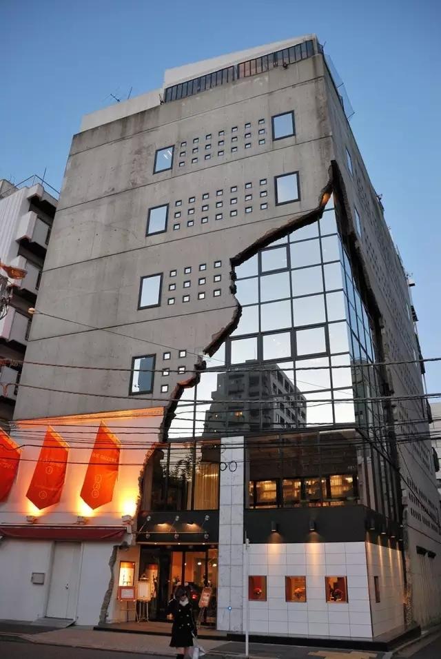 创意还是奇葩?来看看日本这些让人眼前一亮的建筑!