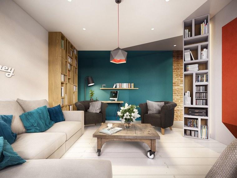 家点软装丨五颜六色的几何装修设计