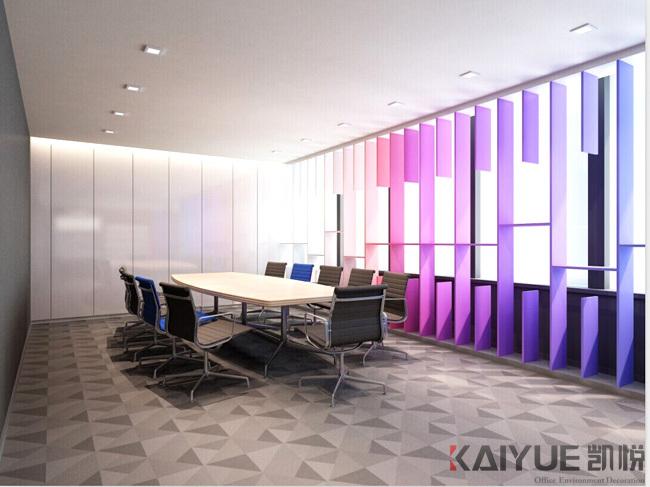 宝琳化妆品公司办公室装饰设计项目--效果图_4