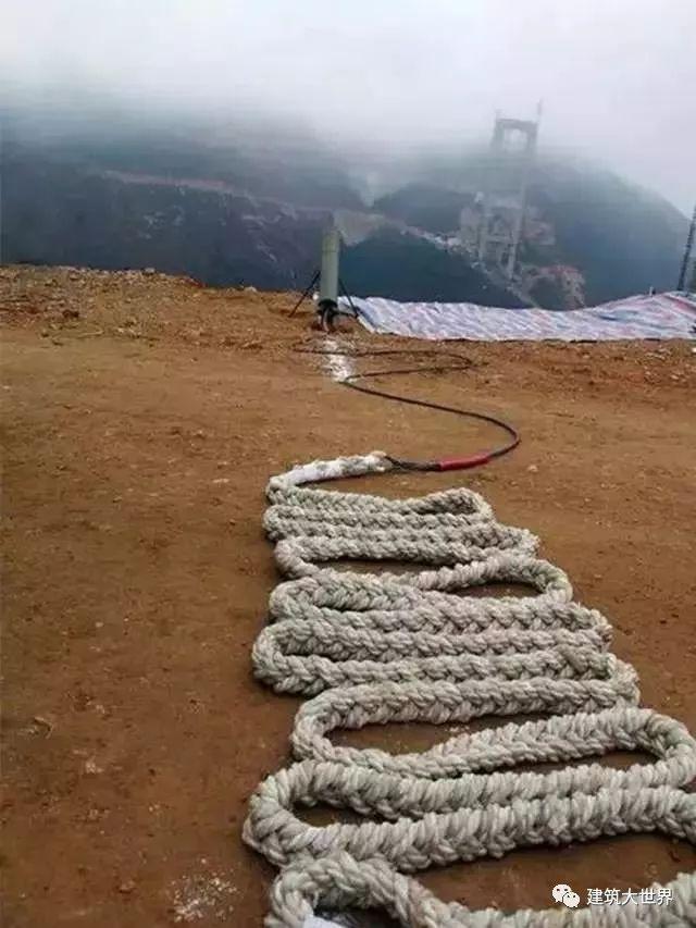 用火箭架桥!云南200层楼高的世界第一高桥!震惊世界!_20