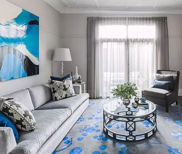 高级灰+蓝色,天生骄傲,打造优雅的高贵感_8