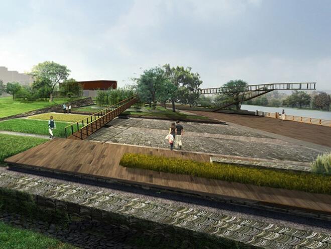 [河南]汝州汝瓷小镇概念规划设计(汝瓷文化、山水田园)