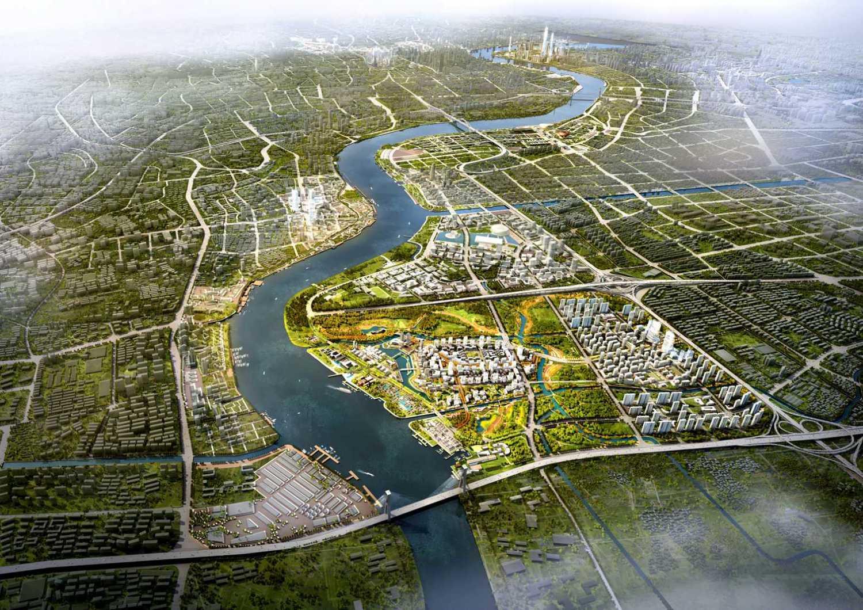 [方案][上海]滨水海派特色人文城市景观规划设计方案 vip