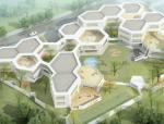 [上海]蜂巢布局幼儿园建筑设计方案文本