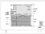 福州某休闲会所整套室内设计施工图纸