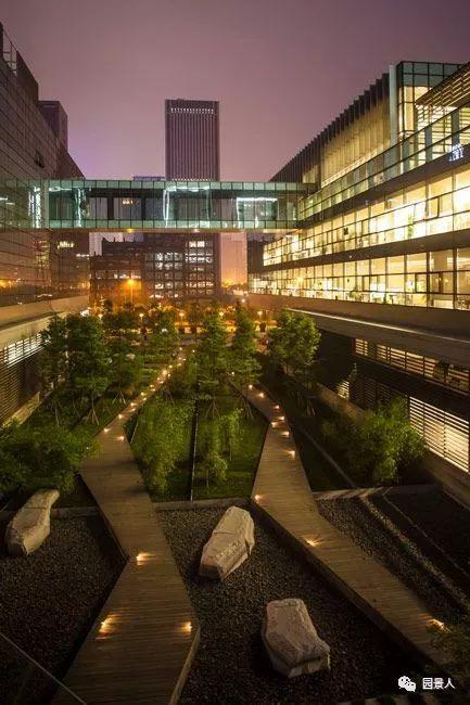 景观中庭,建筑群的心脏!_1