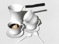 180个欧式中式|厨房场景、橱柜、餐具|SU模型合集