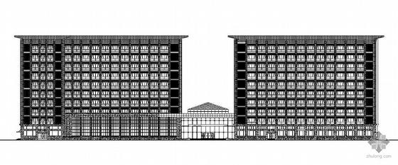 [北京]航天某院总体研发与实验楼幕墙工程建筑施工图