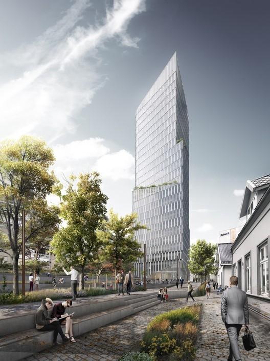 挪威斯塔万格城市规划与多功能大楼竞赛中标方啊