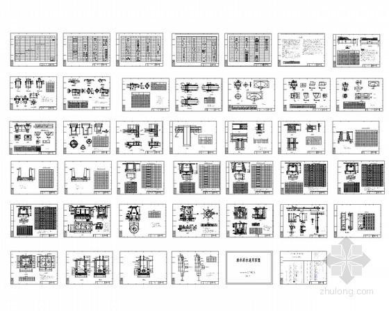 给排水通用图集常用图例精选图块总集