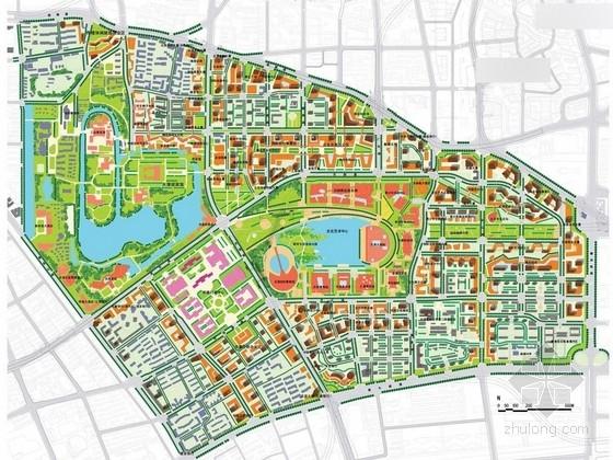 [天津]滨水城市文化中心景观规划设计方案
