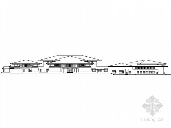 [沈阳]现代风格高层国际会议中心设计施工图