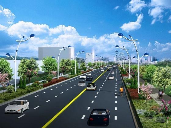 [山东]城市道路实施性施工组织设计141页(管线 电力 绿化 交安)