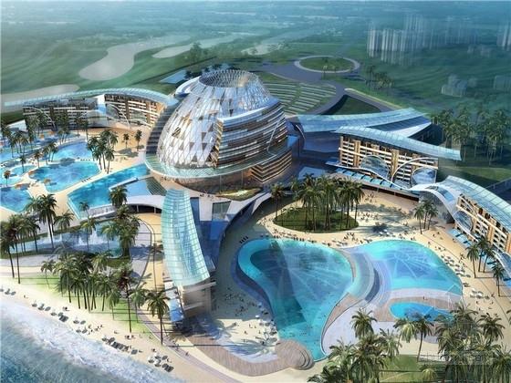 [海南]八爪鱼六星级酒店建筑设计方案文本(国际著名事务所)