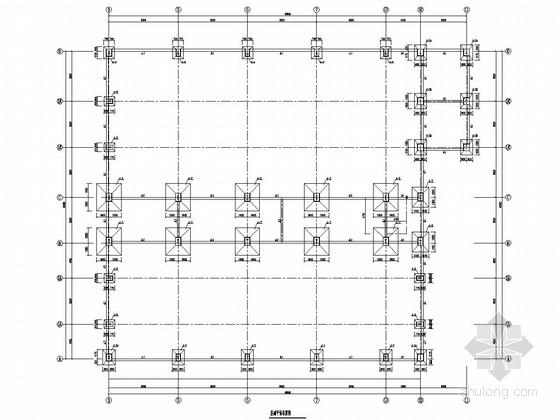 钢结构电厂厂房结构施工图