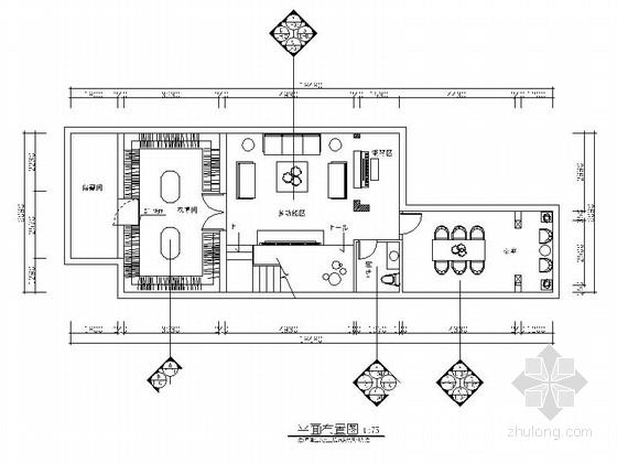 豪华大气欧式古典风格两层别墅装修室内设计施工图(含效果)