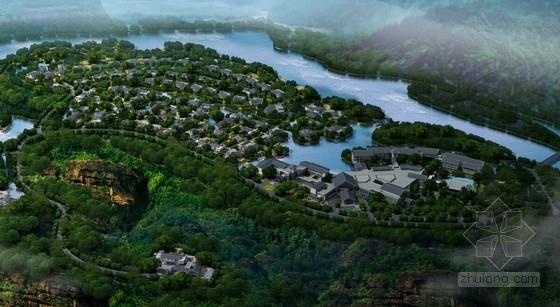 [江西]新中式风格道教养生休闲度假基地规划设计方案文本