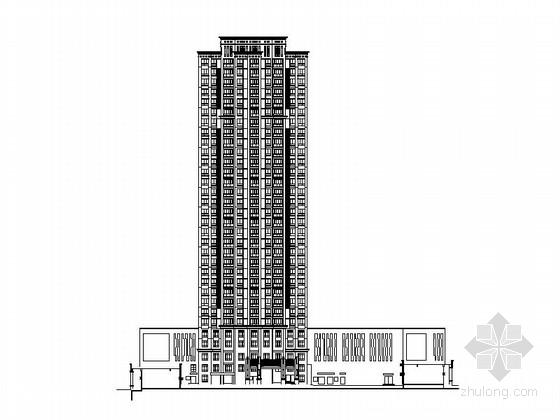 [安徽]现代高层住宅及商业影院建筑施工图