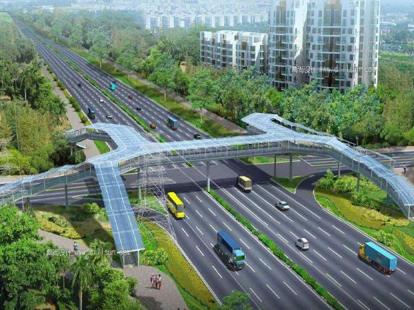 城市道路横断面关键设计