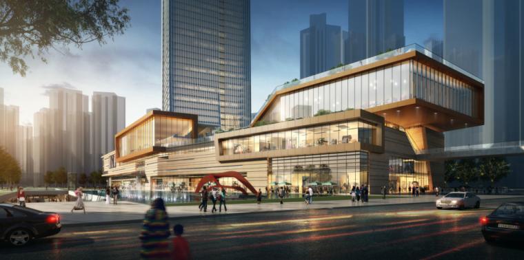 [湖南]国际总部中心二期商业综合体项目方案设计(含酒店、公寓)_5