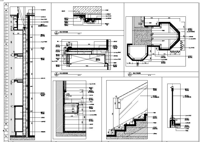 [四川]某上市集团高档会所全套施工图(附效果图)