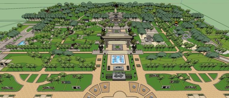 有80个公园的SKETCHUP模型给大家_8