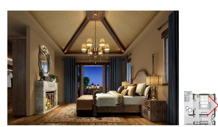 [海口]南加州风格低层度假住宅设计施工图(含效果图+软装概念)_7