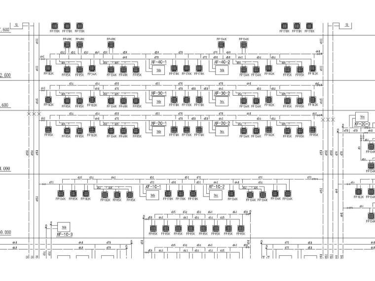 [湖北]占地156亩,总面积约17.5万平方米恩施州文化中心全套暖通图纸(附有多联机系统)